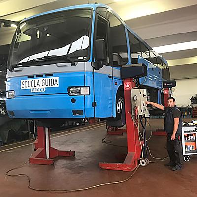 manutenzione autobus