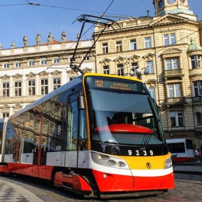 Praga autobus elettrici