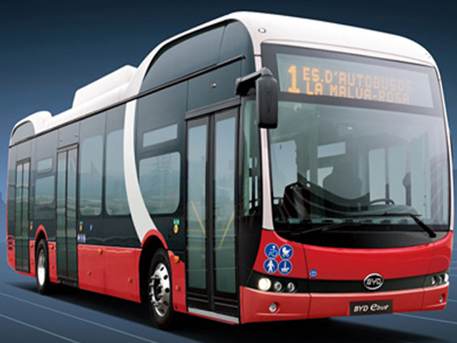 BYD autobus elettrici Italbus
